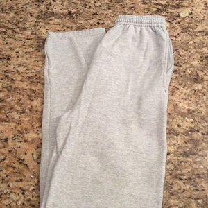 Hanes Heather Grey Sweatpants New